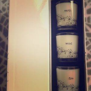 Elemental Herbology Candle Trio, Earth NWT, $88